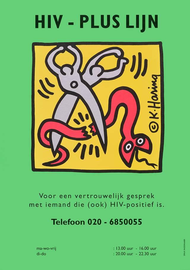 Rettet die Liebe - Keith Haring