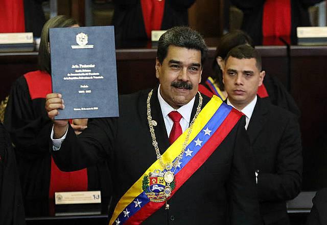 Toma de Posesión de Presidente de Venezuela, Nicolas Maduro.