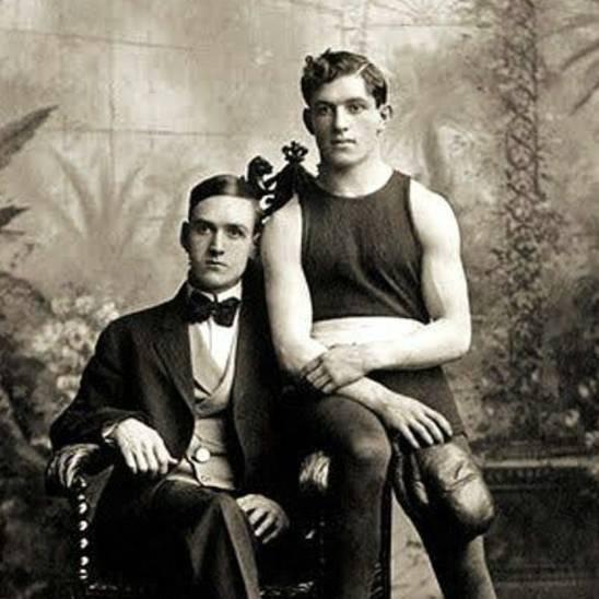 Victorian Gentlemen In Love