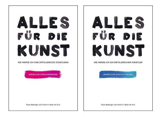"""Tizian Baldinger """"Alles für die Kunst"""""""