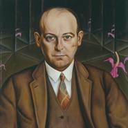 Christian Schad, Portrait des Schriftstellers Ludwig Bäumer, 1927, Berlinische Galerie, Christian-Schad-Stiftung Aschaffenburg, VG Bild-Kunst, Bonn 2013