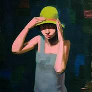 Franz Lerch, Mädchen mit Hut, 1929, Belvedere, Wien