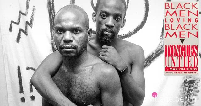 "American Black Gay Male Representation, ""Tongues Untied"" – Marlon Riggs, 1989"