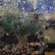 © BILD: Adrian Ghenie, Starry Night, 2013, Öl auf Leinwand, 225 x 200 cm, Courtesy: Galeria Plan B