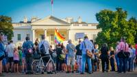 Demo USA Queer, Weißes Haus