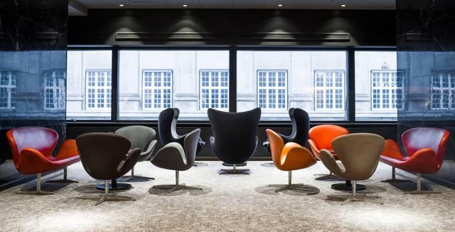 Kopenhagen Hotel Royal Arne Jacobsen