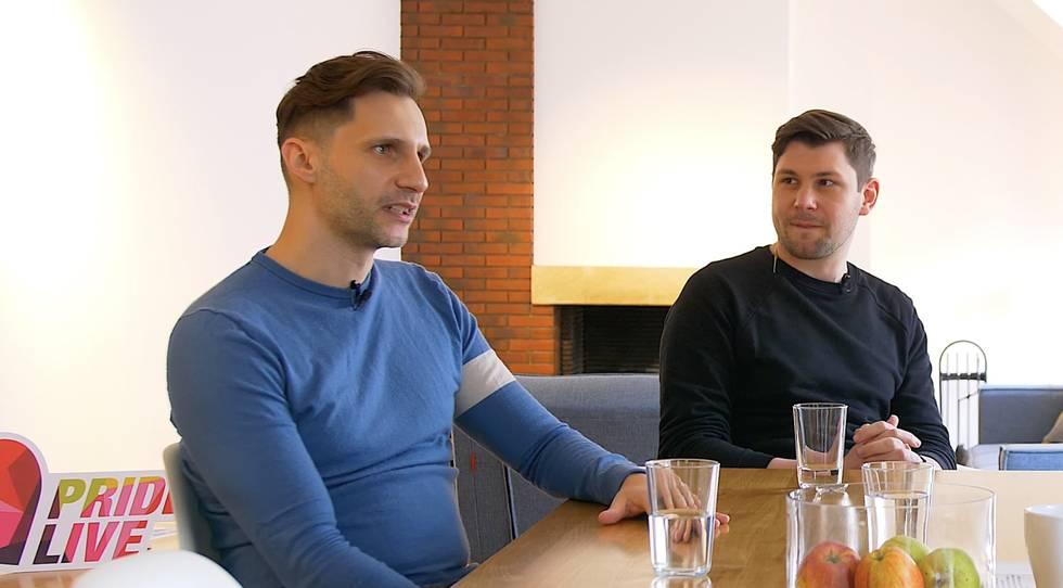 Andre und Fabian vom #nochvielvor Podcast Zwei+