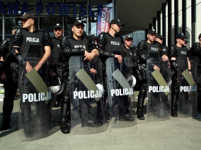 Polizei Polen Policja