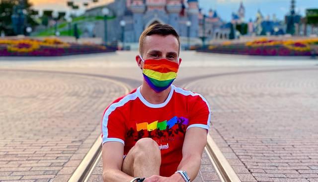 Rainbow Mickey Runner
