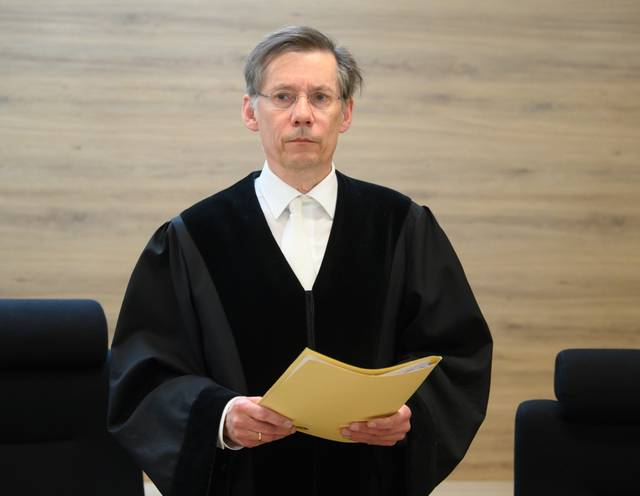 GERMANY-CRIME-JUSTICE-TERRORISM-TRIAL