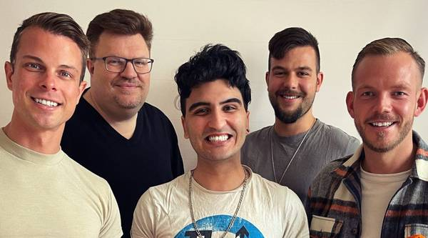 Der CSD-Vorstand: Ulli, FRank, Nasser, Marc-Eric und Patrick