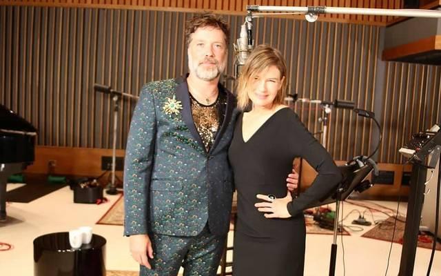 Rufus Wainwright und Renée Zellweger 2021
