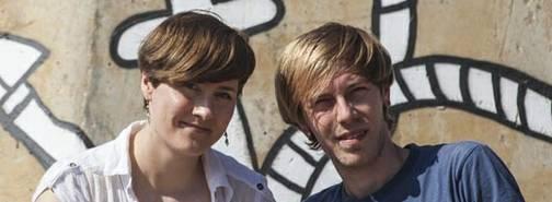 Diana und Alexej, die beiden Kölner Projektmacher und Autoren