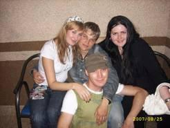Dennis & seine Freundinnen in Temirtau 2007