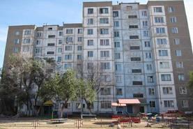 Typischer sowjetischer Plattenbau – in so einer Wohnung wohnt auch Dennis