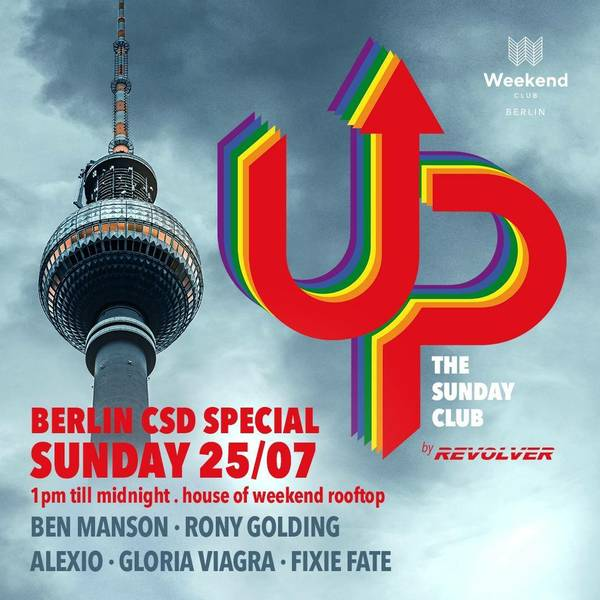 UP – the sunday club by REVOLVER