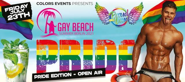Gay Beach Pride Edition Open Air