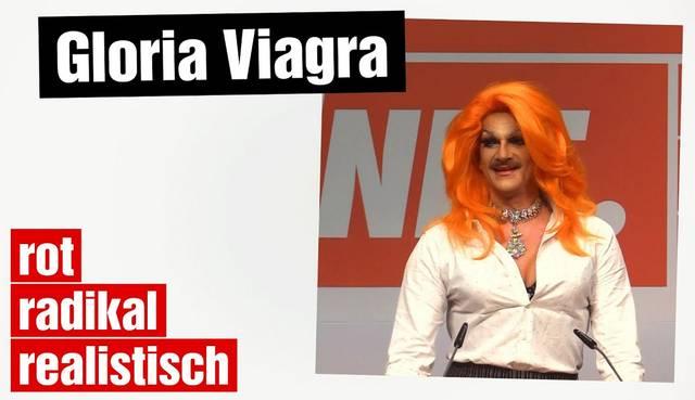 Gloria Viagra: Ich kandidiere!