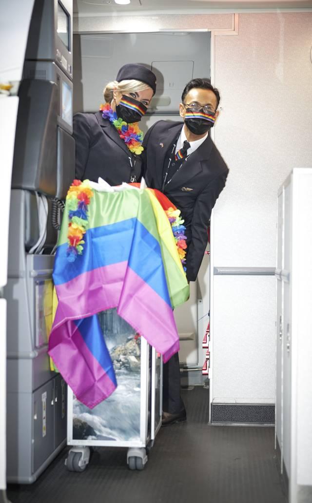 Icelandair Pride Flight