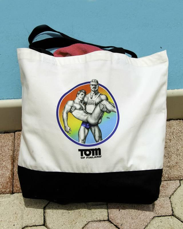 Tom of Finland Beach Bag