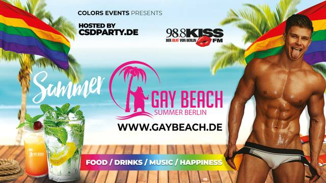 3G: Gay Beach Berlin – FOLSOM SPECIAL