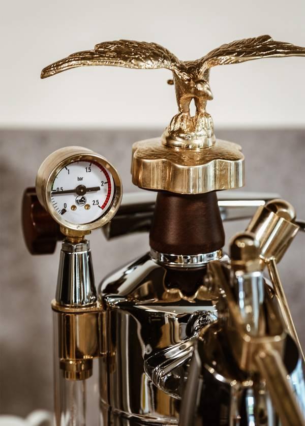 La-Pavoni-Siebträgerkaffeemaschine